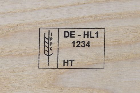 Markoprint inkjet marking on wood