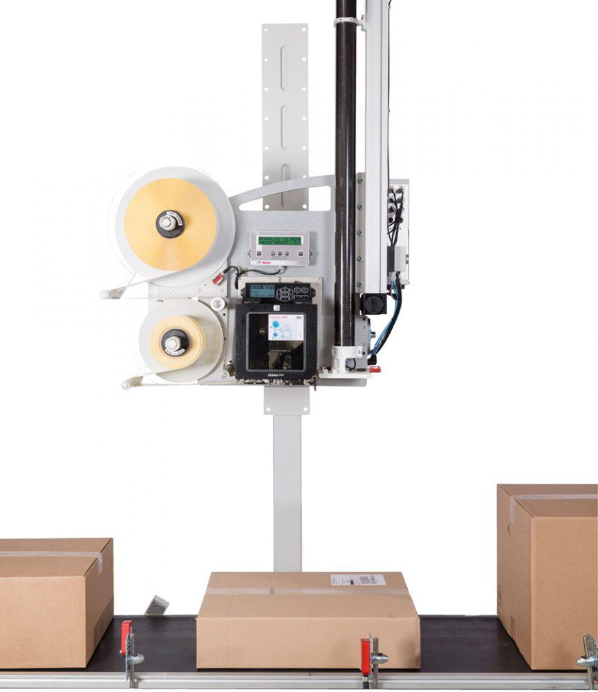Print-apply-labeler Legi-Air 6000 from Weber Marking Systems