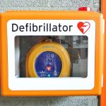 Medical product defibrillator