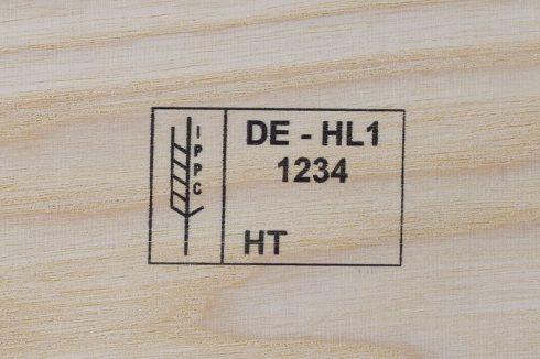 Markoprint inkjet marking on wood