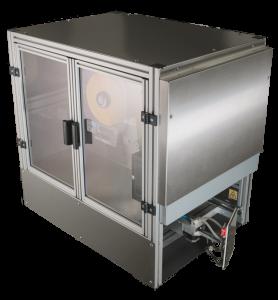 Palettenetikettierer AP 182 von Bluhm Systeme