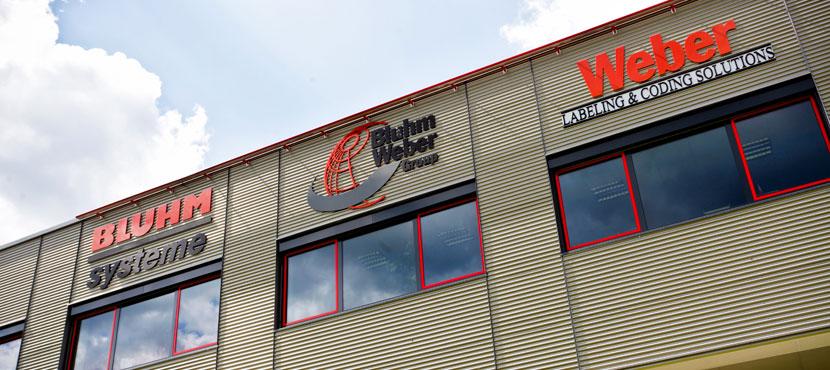 Bluhm Weber Group hoofdkwartier Europa