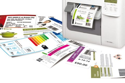 printing labels with a label printer
