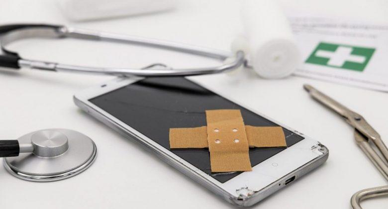 Repair broken smartphone