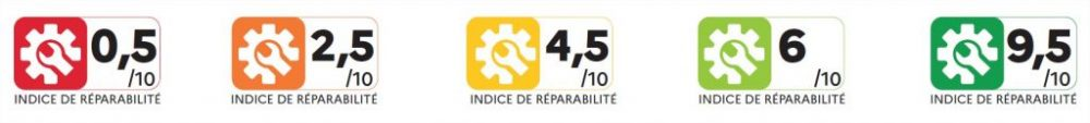 Reparatur-Index Frankreich